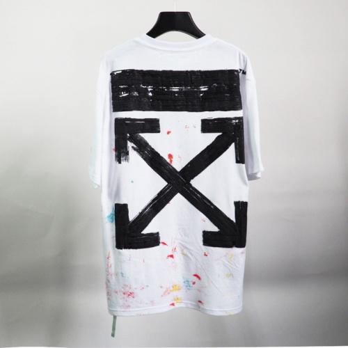 Off-White T-Shirts Short Sleeved O-Neck For Men #772645