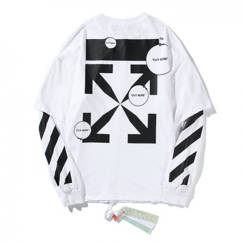 Off-White T-Shirts Long Sleeved O-Neck For Men #772646