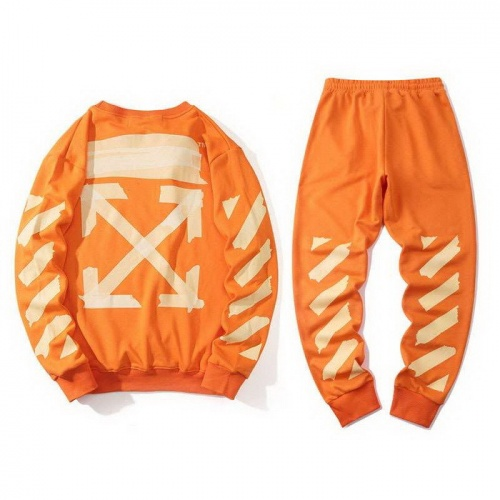Off-White Tracksuits Long Sleeved O-Neck For Men #772672