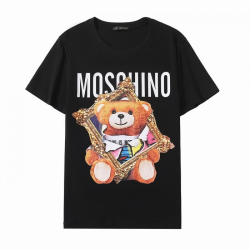 Moschino T-Shirts Short Sleeved O-Neck For Men #772688