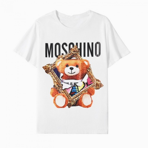 Moschino T-Shirts Short Sleeved O-Neck For Men #772689