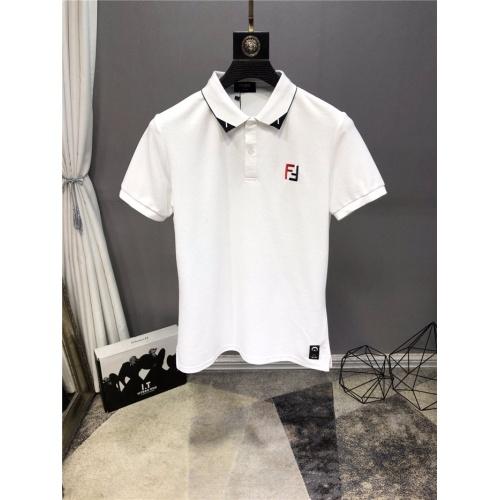 Fendi T-Shirts Short Sleeved Polo For Men #772790