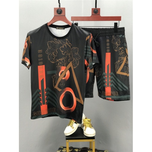 Versace Tracksuits Short Sleeved O-Neck For Men #772806