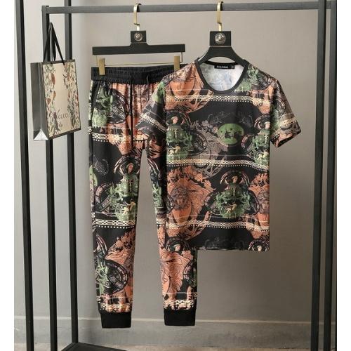 Versace Tracksuits Short Sleeved O-Neck For Men #772837