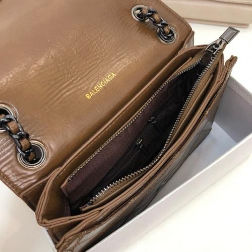 Replica Balenciaga AAA Quality Shoulder Bags #772985 $66.93 USD for Wholesale