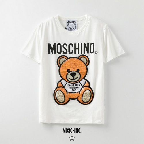 Moschino T-Shirts Short Sleeved O-Neck For Men #773232