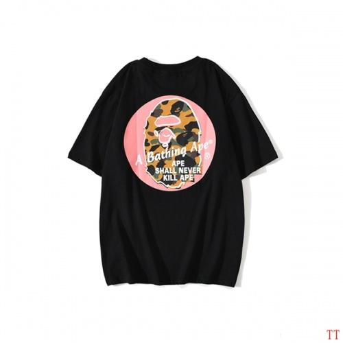 Bape T-Shirts Short Sleeved O-Neck For Men #773248 $24.25 USD, Wholesale Replica Bape T-Shirts