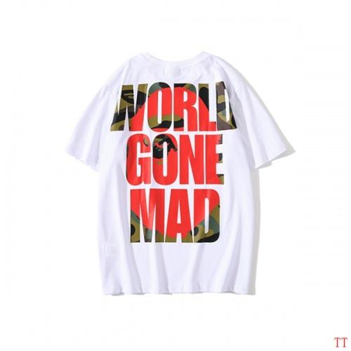 Bape T-Shirts Short Sleeved O-Neck For Men #773249