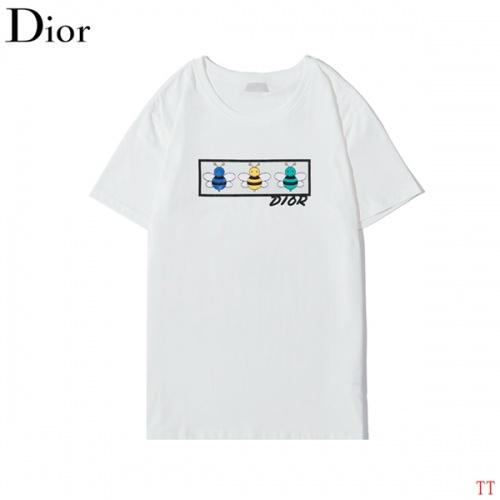 Christian Dior T-Shirts Short Sleeved O-Neck For Men #773273