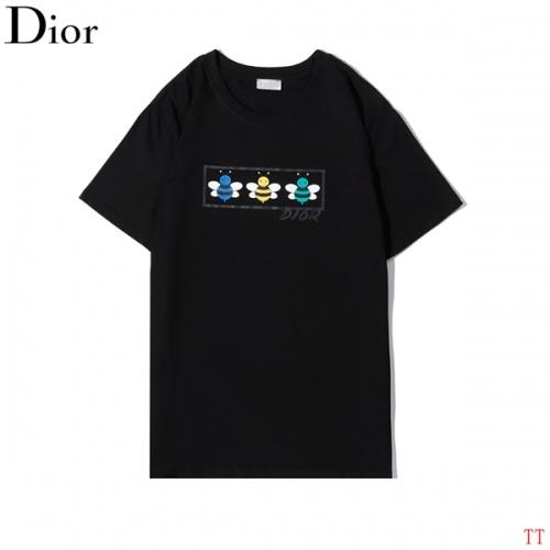 Christian Dior T-Shirts Short Sleeved O-Neck For Men #773274
