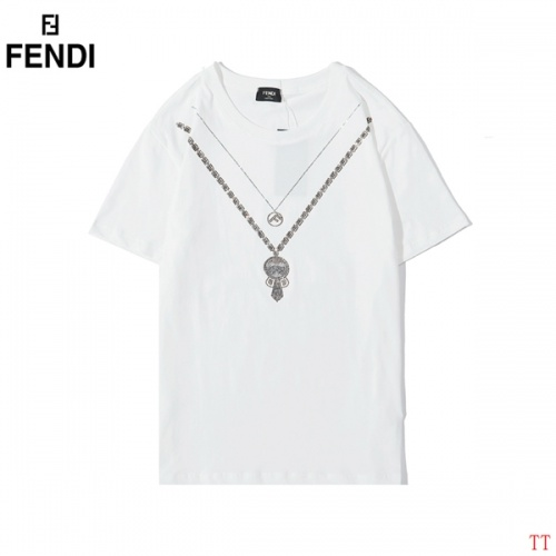 Fendi T-Shirts Short Sleeved O-Neck For Men #773275