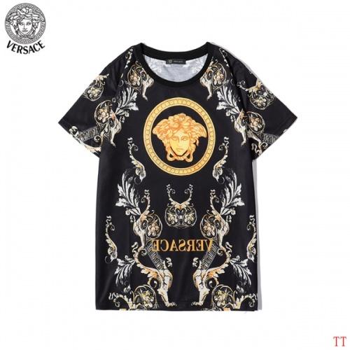 Versace T-Shirts Short Sleeved O-Neck For Men #773315