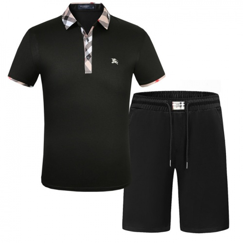 Burberry Tracksuits Short Sleeved Polo For Men #773473