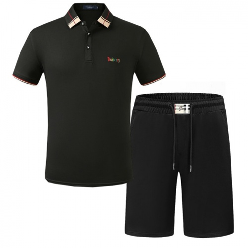 Burberry Tracksuits Short Sleeved Polo For Men #773484