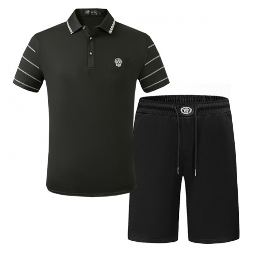 Versace Tracksuits Short Sleeved Polo For Men #773503