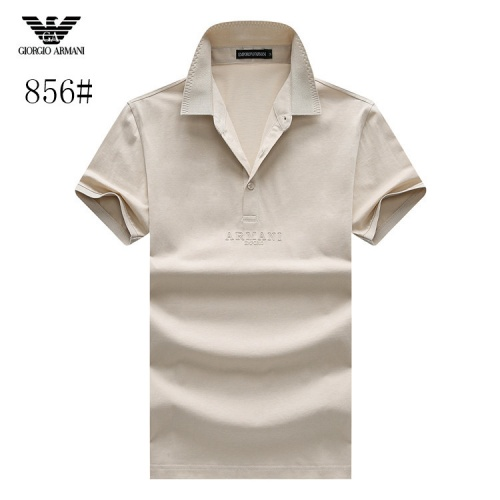 Armani T-Shirts Short Sleeved Polo For Men #773551