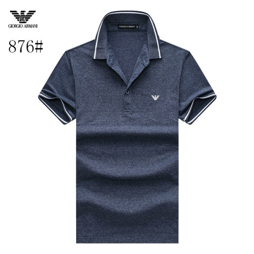 Armani T-Shirts Short Sleeved Polo For Men #773581