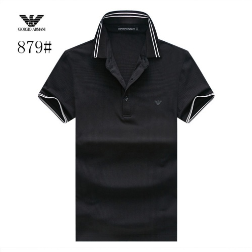 Armani T-Shirts Short Sleeved Polo For Men #773590