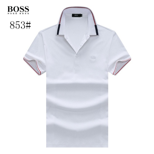 Boss T-Shirts Short Sleeved Polo For Men #773607