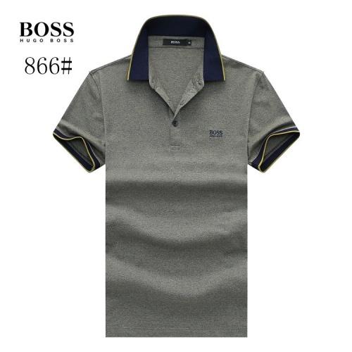 Boss T-Shirts Short Sleeved Polo For Men #773611