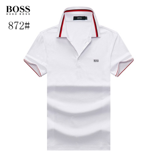 Boss T-Shirts Short Sleeved Polo For Men #773613 $26.19, Wholesale Replica Boss T-Shirts