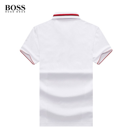 Replica Boss T-Shirts Short Sleeved Polo For Men #773613 $26.19 USD for Wholesale