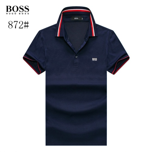 Boss T-Shirts Short Sleeved Polo For Men #773614