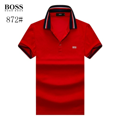 Boss T-Shirts Short Sleeved Polo For Men #773615