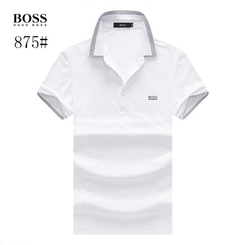 Boss T-Shirts Short Sleeved Polo For Men #773616