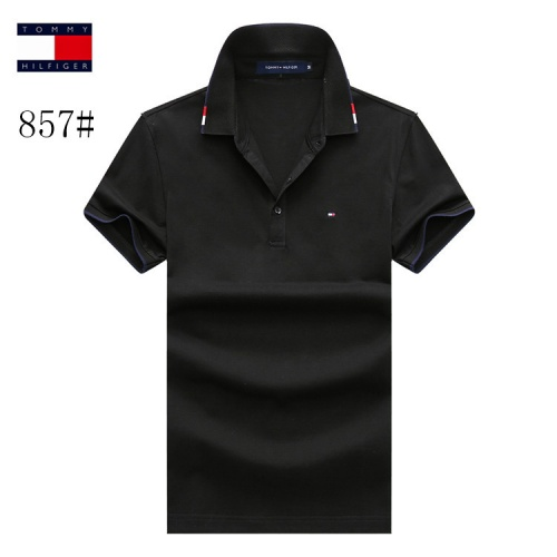Tommy Hilfiger TH T-Shirts Short Sleeved Polo For Men #773626 $26.19 USD, Wholesale Replica Tommy Hilfiger TH T-Shirts