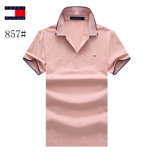 Tommy Hilfiger TH T-Shirts Short Sleeved Polo For Men #773629