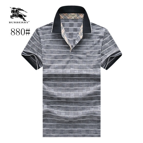 Burberry T-Shirts Short Sleeved Polo For Men #773635