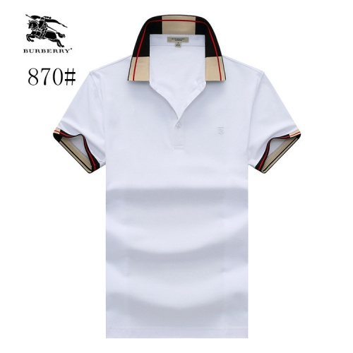 Burberry T-Shirts Short Sleeved Polo For Men #773654
