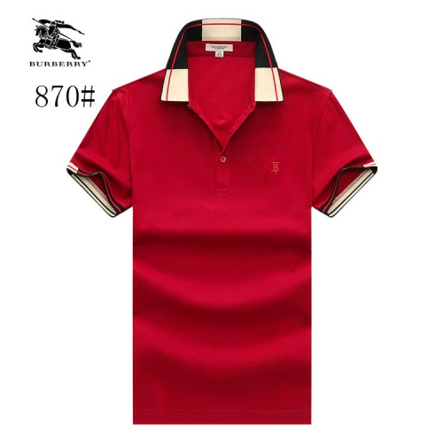 Burberry T-Shirts Short Sleeved Polo For Men #773656