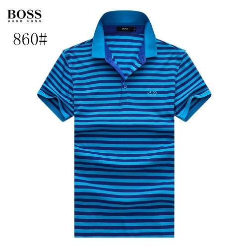 Boss T-Shirts Short Sleeved Polo For Men #773664