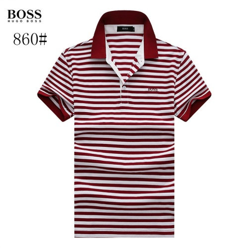 Boss T-Shirts Short Sleeved Polo For Men #773667