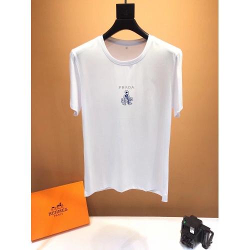 Prada T-Shirts Short Sleeved O-Neck For Men #773718
