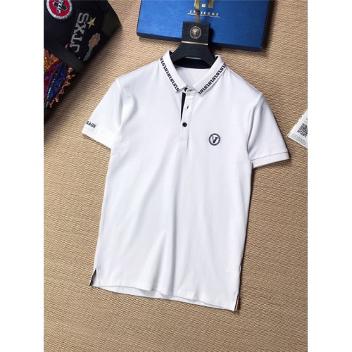 Versace T-Shirts Short Sleeved Polo For Men #773778