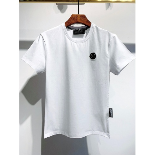Philipp Plein PP T-Shirts Short Sleeved O-Neck For Men #773983 $26.19, Wholesale Replica Philipp Plein PP T-Shirts