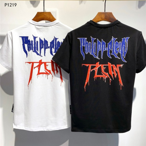 Replica Philipp Plein PP T-Shirts Short Sleeved O-Neck For Men #773983 $26.19 USD for Wholesale