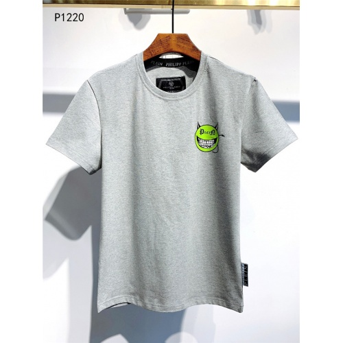 Philipp Plein PP T-Shirts Short Sleeved O-Neck For Men #773984 $24.25, Wholesale Replica Philipp Plein PP T-Shirts