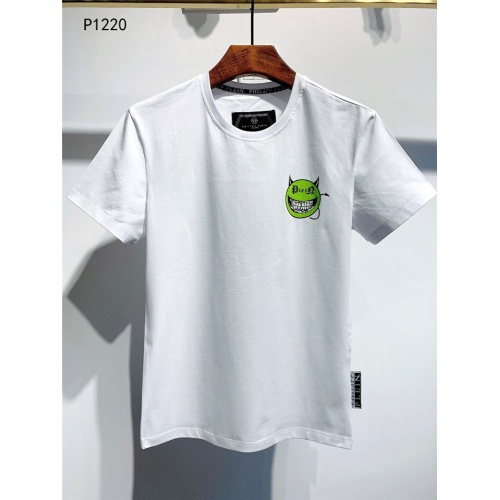 Philipp Plein PP T-Shirts Short Sleeved O-Neck For Men #773985 $24.25, Wholesale Replica Philipp Plein PP T-Shirts