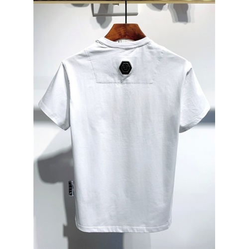 Replica Philipp Plein PP T-Shirts Short Sleeved O-Neck For Men #773985 $24.25 USD for Wholesale