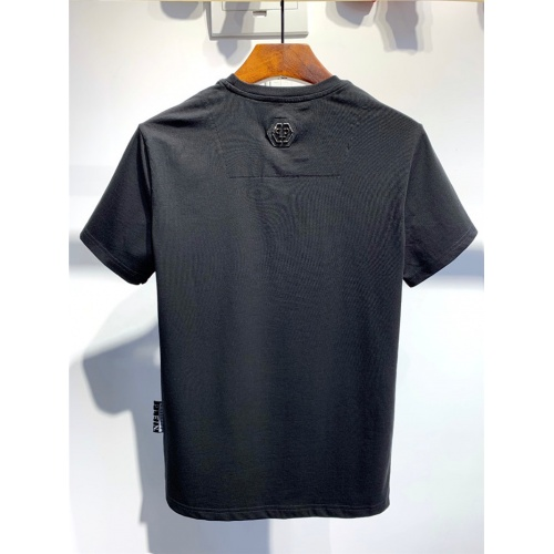 Replica Philipp Plein PP T-Shirts Short Sleeved O-Neck For Men #773986 $24.25 USD for Wholesale