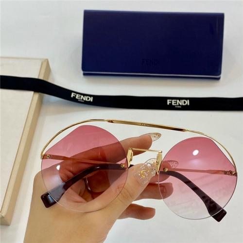 Fendi AAA Quality Sunglasses #774047