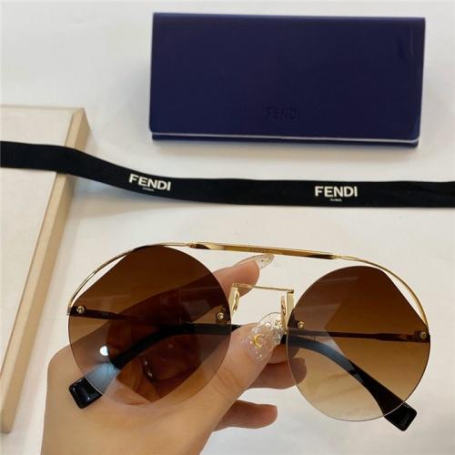 Fendi AAA Quality Sunglasses #774049