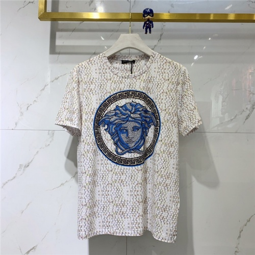 Versace T-Shirts Short Sleeved O-Neck For Men #774230