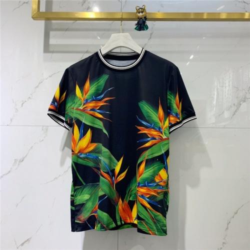 Dolce & Gabbana D&G T-Shirts Short Sleeved O-Neck For Men #774240
