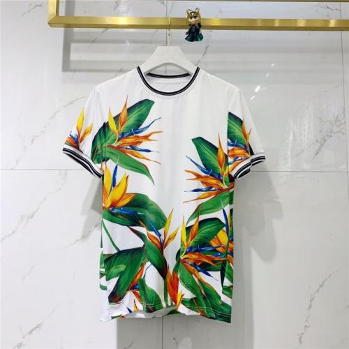 Dolce & Gabbana D&G T-Shirts Short Sleeved O-Neck For Men #774241