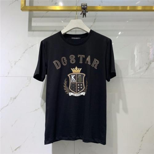 Dolce & Gabbana D&G T-Shirts Short Sleeved O-Neck For Men #774259